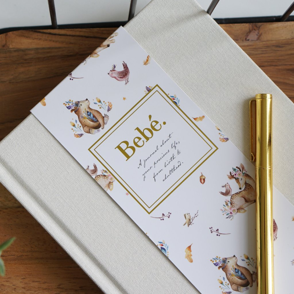Bebé Keepsake Journal - IVORY