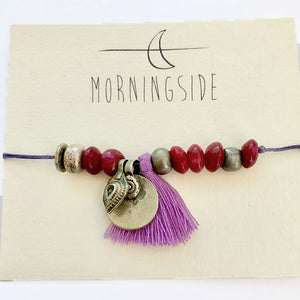 Morningside armbånd - Fuchsia