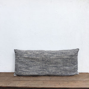 Bomulds madras 45x120 - Grey