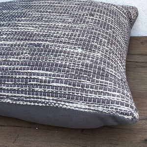 Bomulds madras 45x150 - Grey