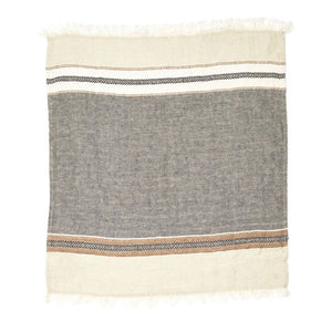Throw - Beeswax stripe