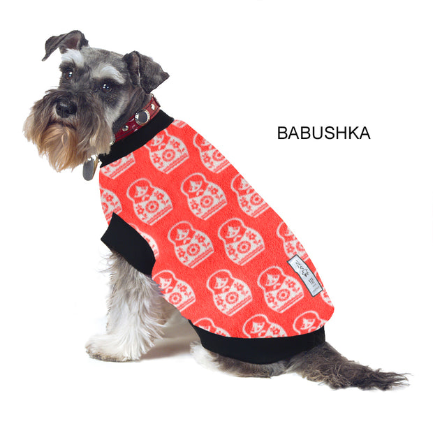 Dog Skivvy - Babushka: polar fleece: made in Australia