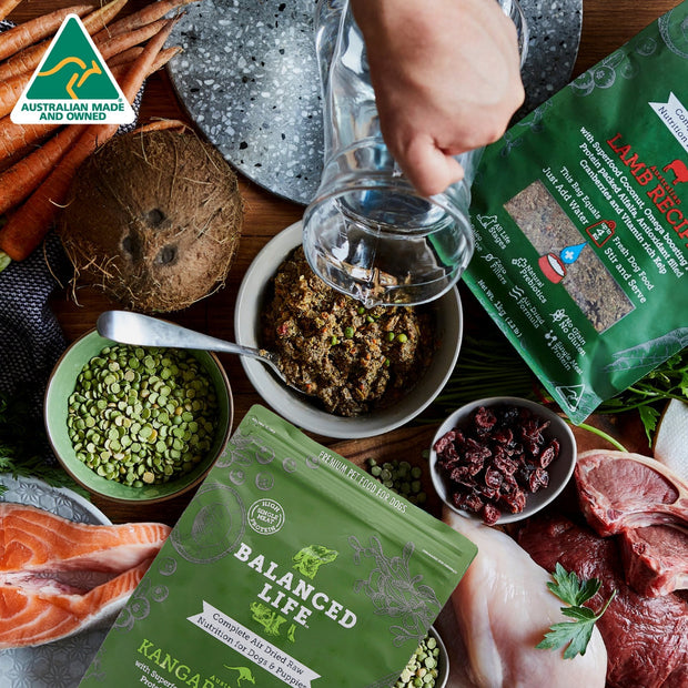Balanced Life - Australian Kangaroo Recipe - Yap Wear Store Albert Park | Pet Boutique