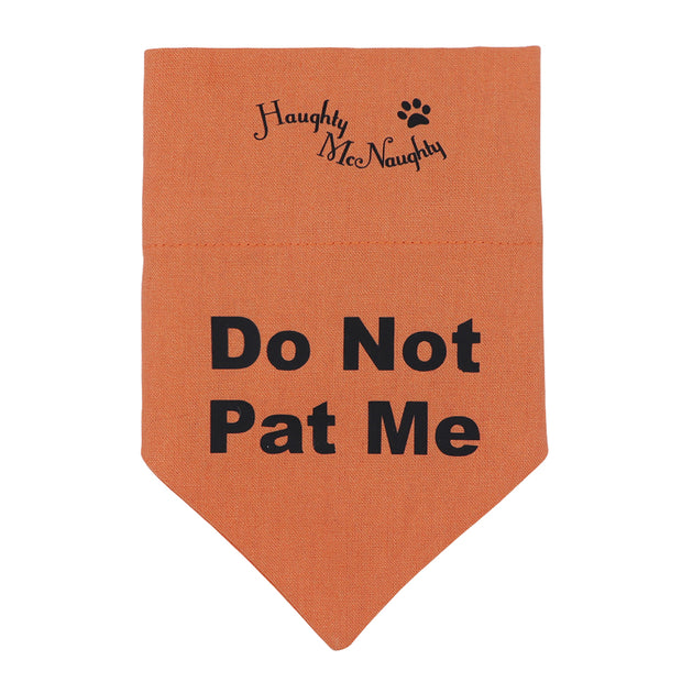 Bandana - Do not pat me!