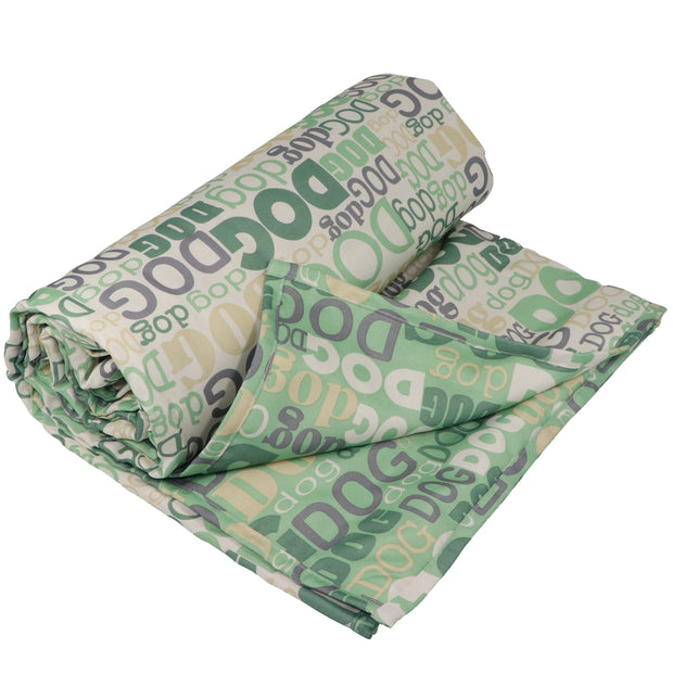 Outdoor Pet Picnic Blanket - Dog print