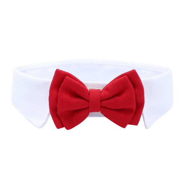 Collar & Bow tie - Red