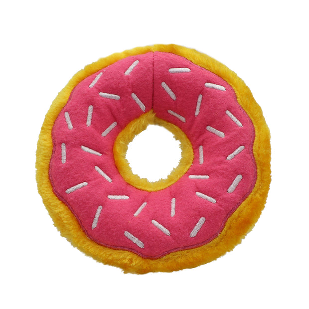 Squeaky donut dog toy - Yap Wear Store Albert Park | Pet Boutique