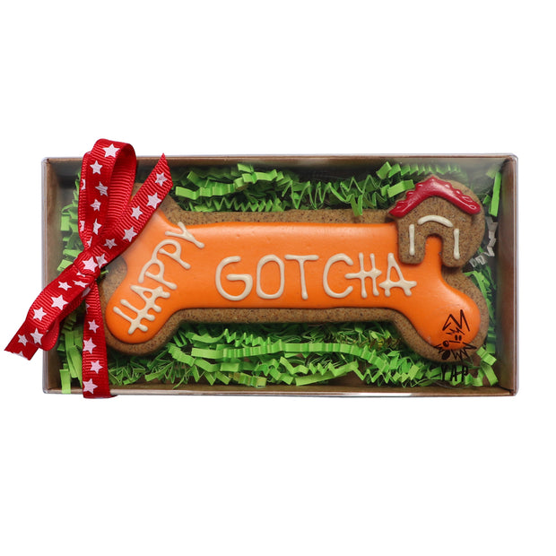 Happy Gotcha Handmade dog Biscuit: gift boxed - Yap Wear Store Albert Park | Pet Boutique