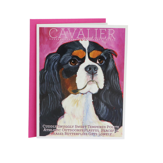 King Charles Cavalier - gift card - Yap Wear Store Albert Park | Pet Boutique