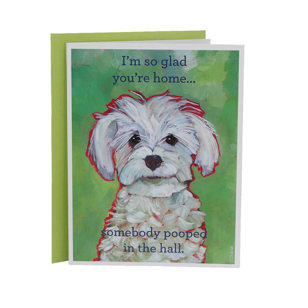 I'm so glad your home - gift card - Yap Wear Store Albert Park | Pet Boutique
