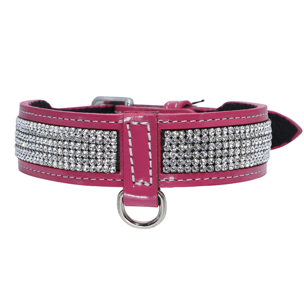 Dog Collar - with Swarovski crystal band
