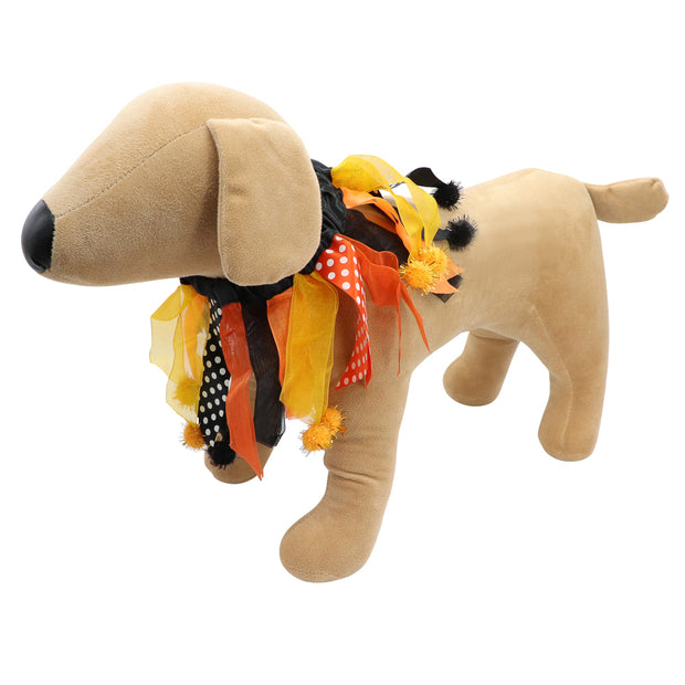 HOWL-O-WEEN Glow neck party frills - Yap Wear Store Albert Park | Pet Boutique