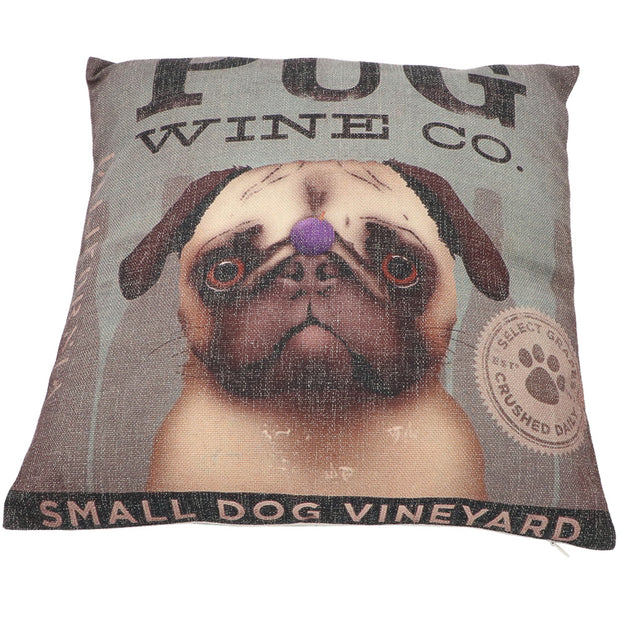 Pug - Cushion cover - Yap Wear Store Albert Park | Pet Boutique