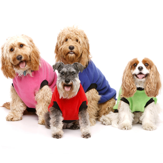 Dog Skivvy - Plain anti-pill polar fleece - Yap Wear Store Albert Park | Pet Boutique