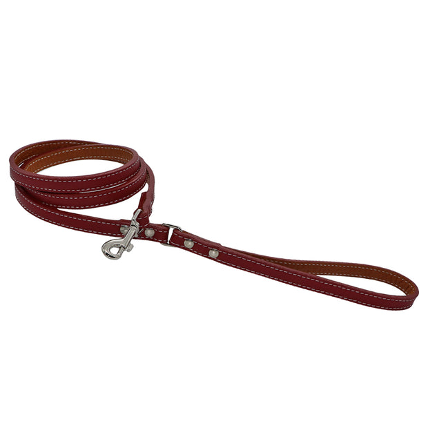 Leather dog leash - Dakota narrow - Yap Wear Store Albert Park | Pet Boutique