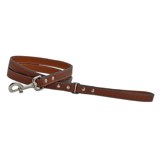 Leather Lead - Dakota wide - Yap Wear Store Albert Park | Pet Boutique