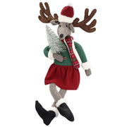 Missy Reindeer with Chrismas tree - Yap Wear Store Albert Park | Pet Boutique