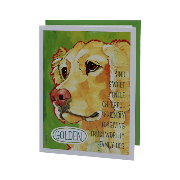 Golden Retriever - gift card - Yap Wear Store Albert Park | Pet Boutique