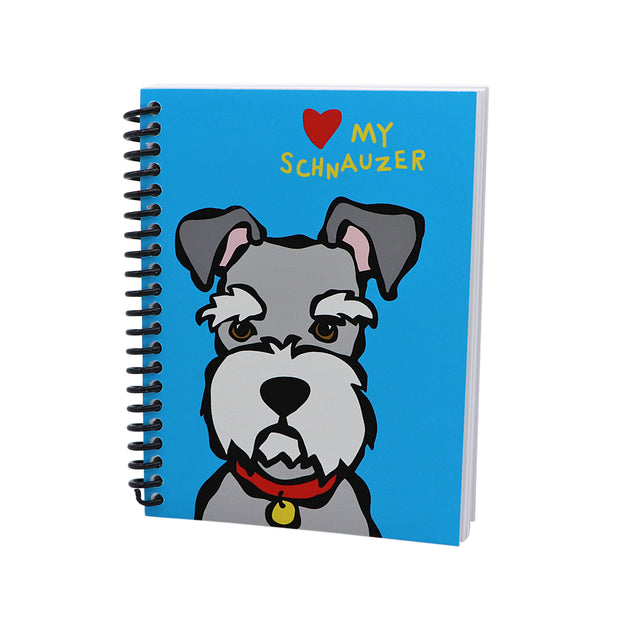 Marc Tetro - Schnauzer note book - Yap Wear Store Albert Park | Pet Boutique
