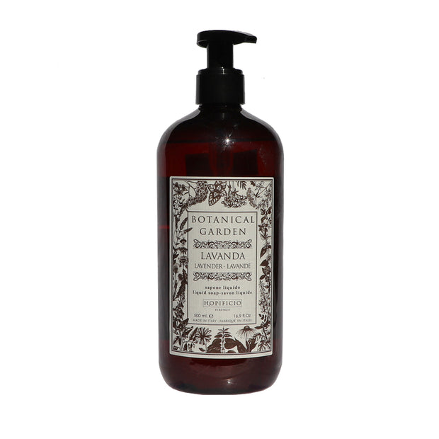 Liquid soap Botanical Garden Lavender -Made in Italy - Yap Wear Store Albert Park | Pet Boutique