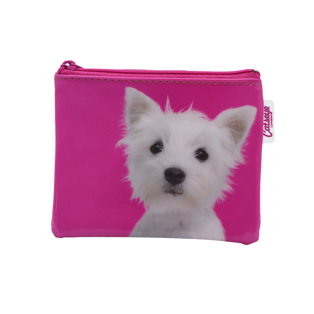 White Pooch coin purse - Yap Wear Store Albert Park | Pet Boutique