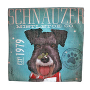 Schnauzer Mistletoe Co. - Cushion cover - Yap Wear Store Albert Park | Pet Boutique