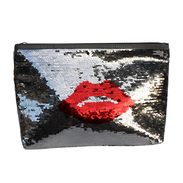 Sequin Cosmetic make-up bag - Yap Wear Store Albert Park | Pet Boutique