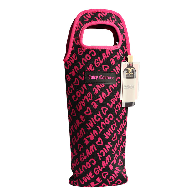 "Juicy Couture ""GLAM""  Insulated Wine Tote - Yap Wear Store Albert Park 