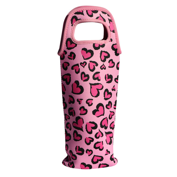 Juicy Couture 'Hearts' - Insulated Wine Tote - Yap Wear Store Albert Park | Pet Boutique