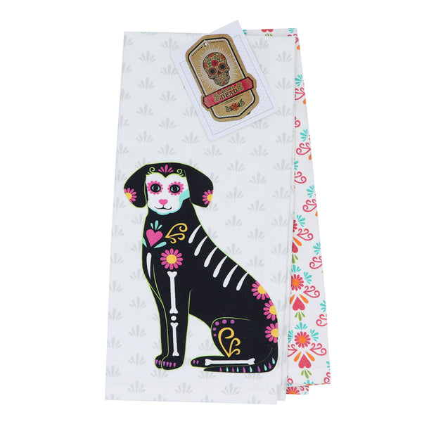 Decor of the Dead - 2 Tea towels - Yap Wear Store Albert Park | Pet Boutique