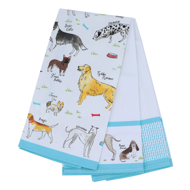 Stylish Dogs - Set of 3 Tea towels - Yap Wear Store Albert Park | Pet Boutique