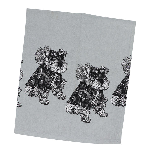 Schnauzer tea towel - Yap Wear Store Albert Park | Pet Boutique