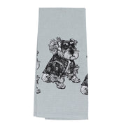 Schnauzer  - Tea towel - Yap Wear Store Albert Park | Pet Boutique