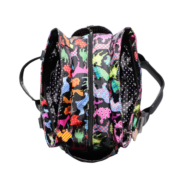 Dog print duffle bag - Yap Wear Store Albert Park | Pet Boutique