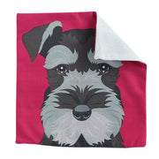 Schnauzer Face - Cushion cover - Yap Wear Store Albert Park | Pet Boutique