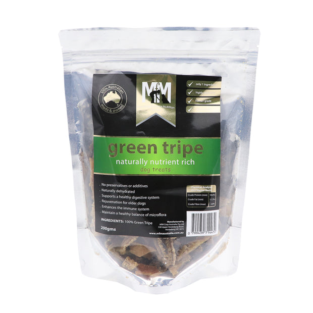Green Tripe - naturally nutrient rich dog treats - Yap Wear Store Albert Park | Pet Boutique