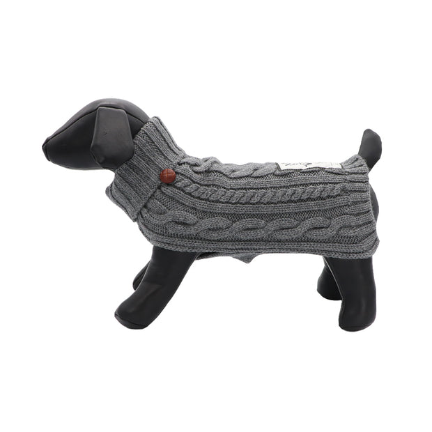 Woollen cable knit - Yap Wear Store Albert Park | Pet Boutique