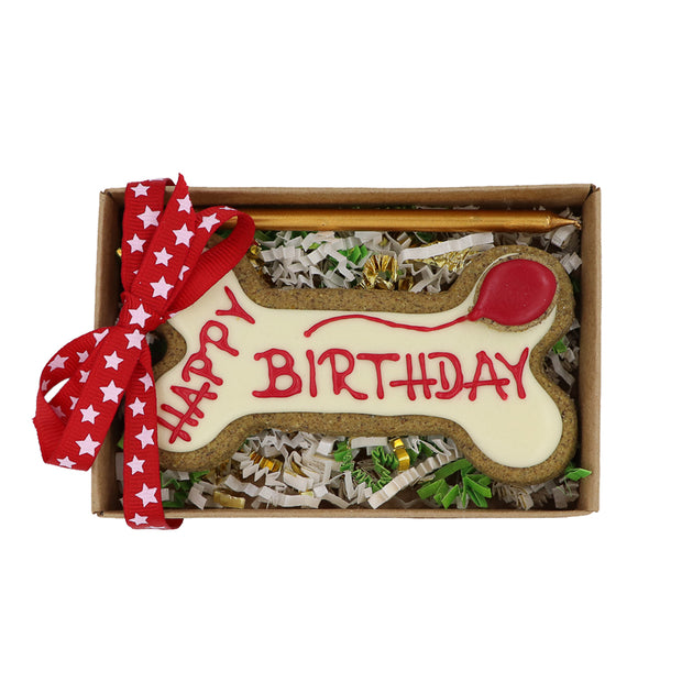 Happy Birthday Handmade Biscuit - Yap Wear Store Albert Park | Pet Boutique