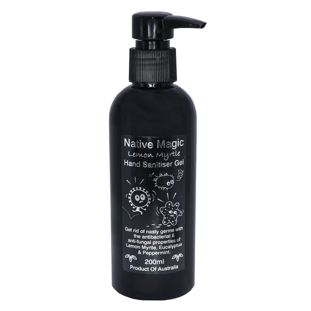 Natural Hand Sanitiser Gel for Humans w/lemon myrtle - Pet Safe - Yap Wear Store Albert Park | Pet Boutique