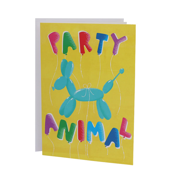 Happy Birthday card - Party Animal - Yap Wear Store Albert Park | Pet Boutique