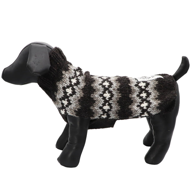 Dog jumper - Fairisle pure wool - Yap Wear Store Albert Park | Pet Boutique