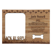 Magnetic Photo Frame - Jack Russell