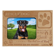 Magnetic Photo Frame - Rescue Dog