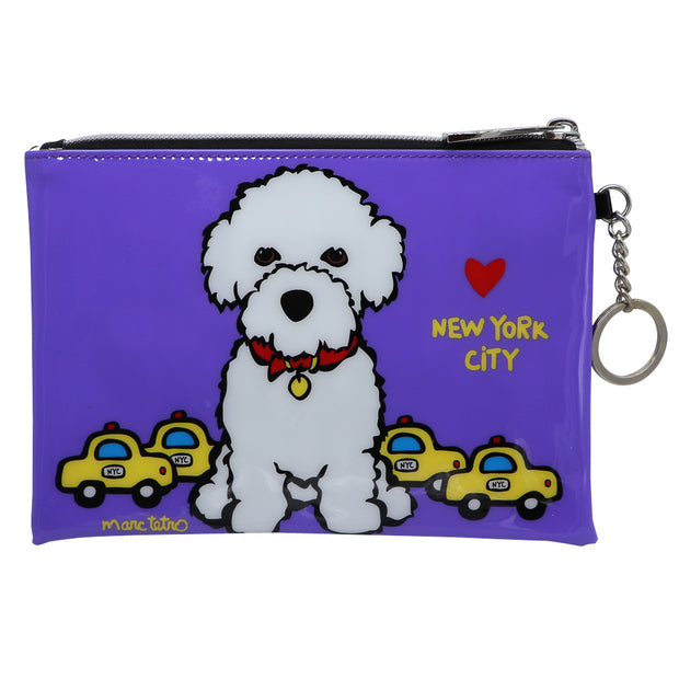 Marc Tetro zip pouch - Bichon NYC | Large