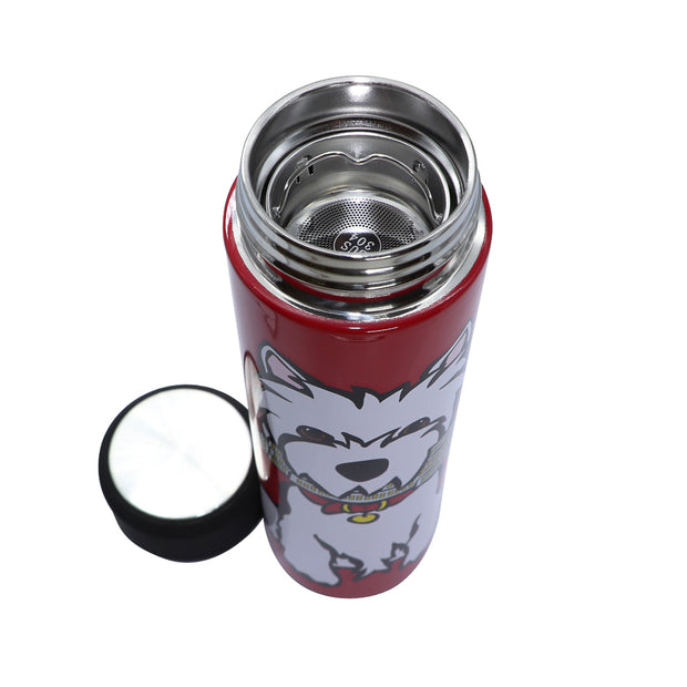 Marc Tetro - Westie insulated drink flask