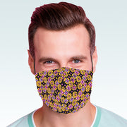 """Retro"" face mask - unisex"