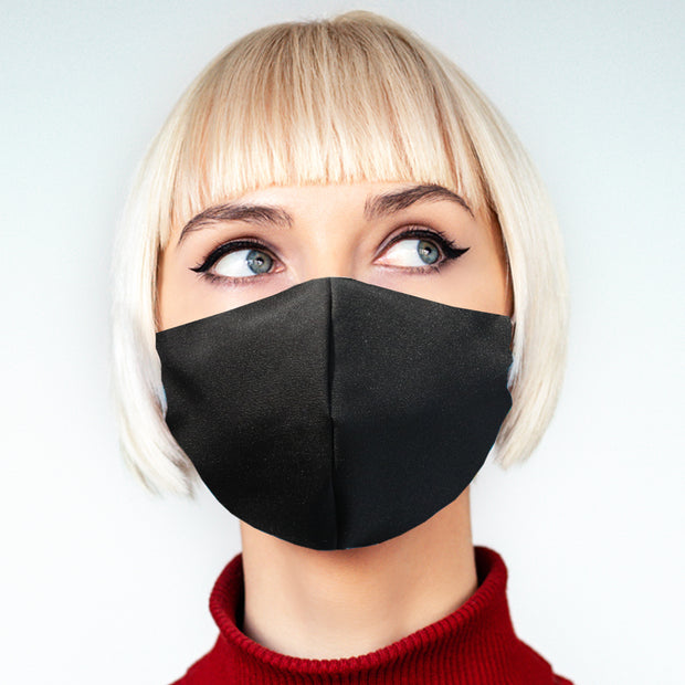 """Black"" face mask - unisex"