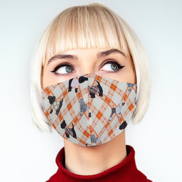 """Woof"" face mask - unisex"