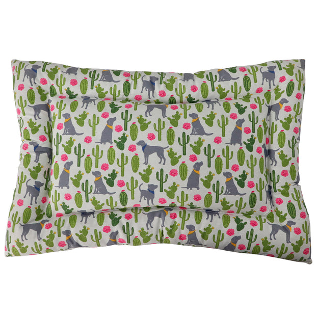 Dog Mat - Cactus & Pooch Print - Yap Wear Store Albert Park | Pet Boutique
