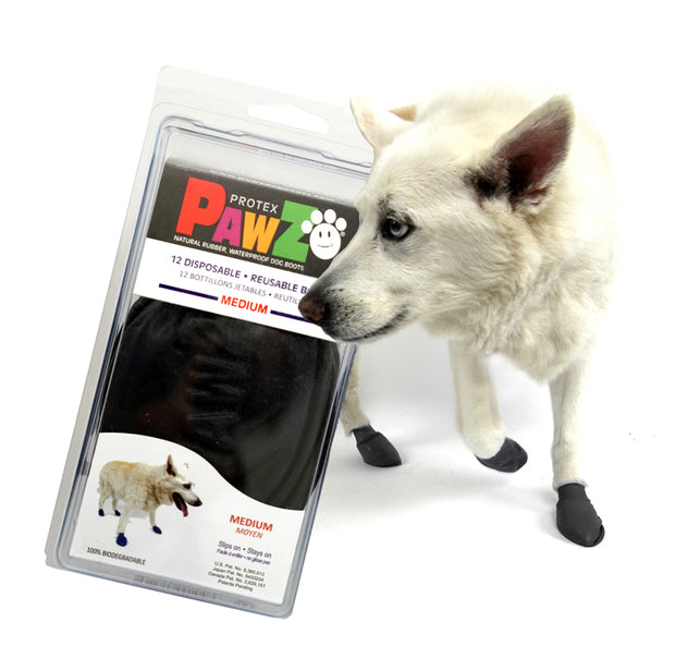 PAWZ - Medium Rubber Dog Boots - reusable & waterproof. - Yap Wear Store Albert Park | Pet Boutique